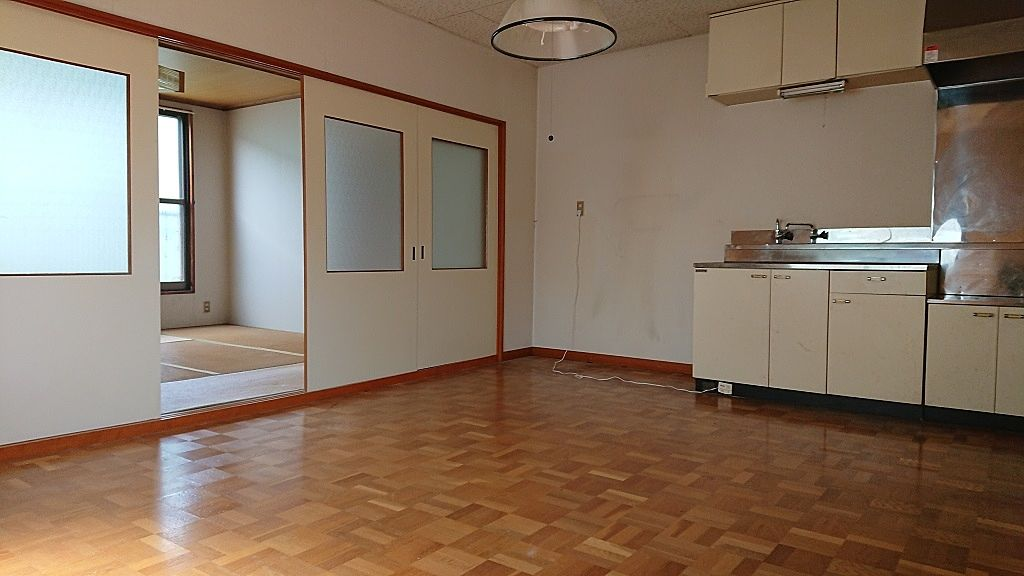 角部屋、2面採光で和室からも陽光が入ります