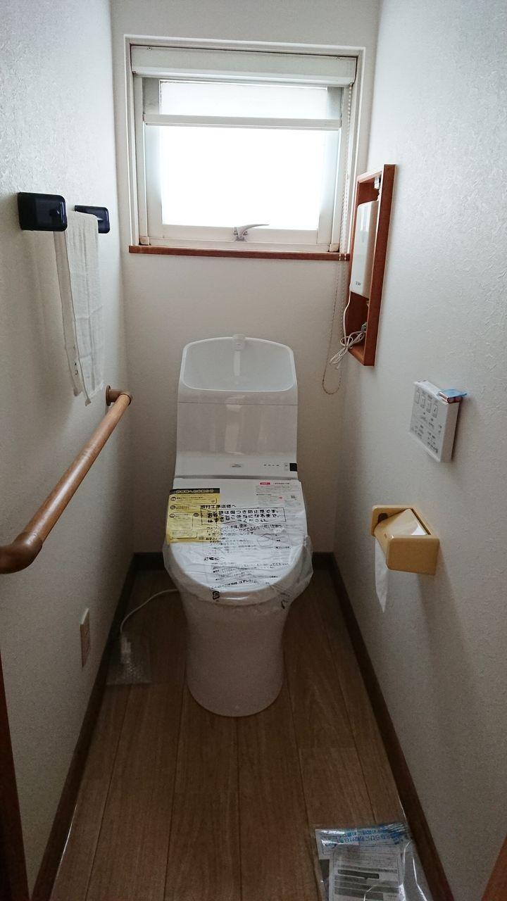 2階にもトイレがあるので人数の多い家族も安心