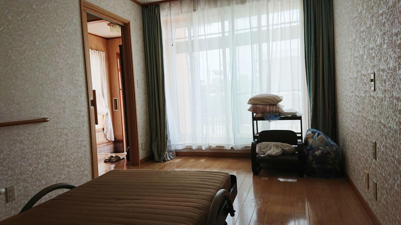 1階洋室はバリアフリールーム。南東向き