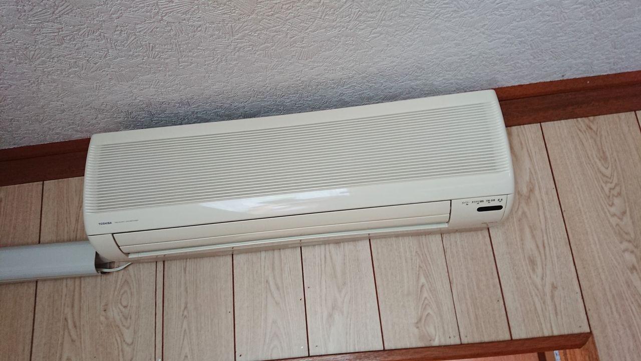 居間にエアコン付き