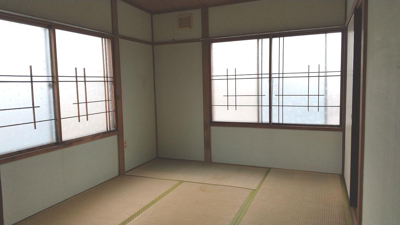 2面採光の6畳和室