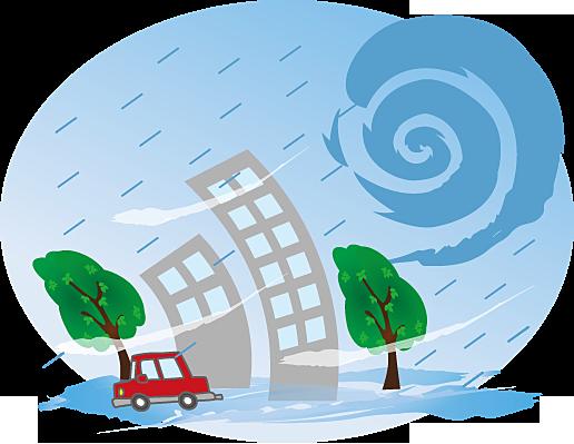 恵庭市の洪水ハザードマップ状況