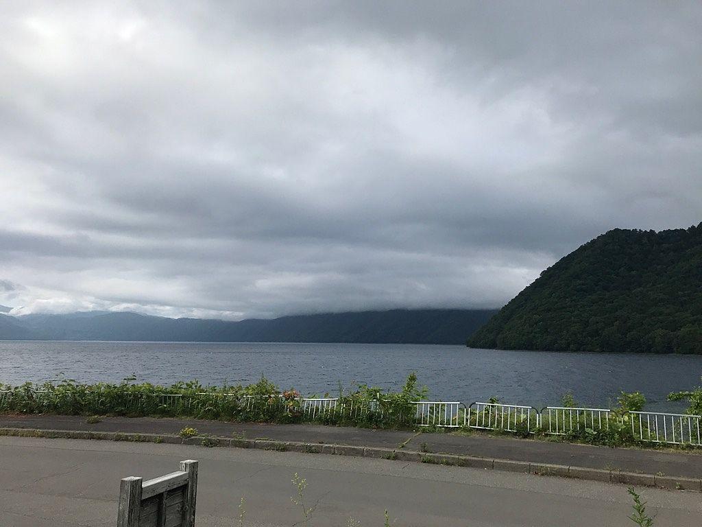 支笏湖に立ち寄りました。