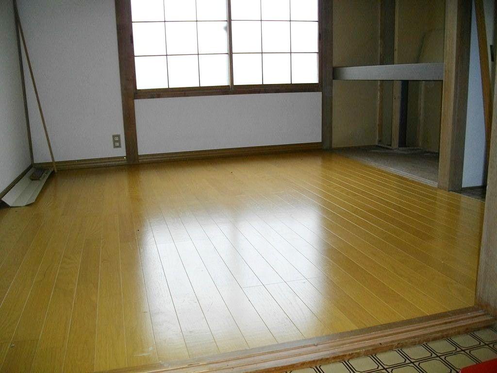 恵庭市和光町パークハイム103号室は和室を洋室化のリフォーム済み!